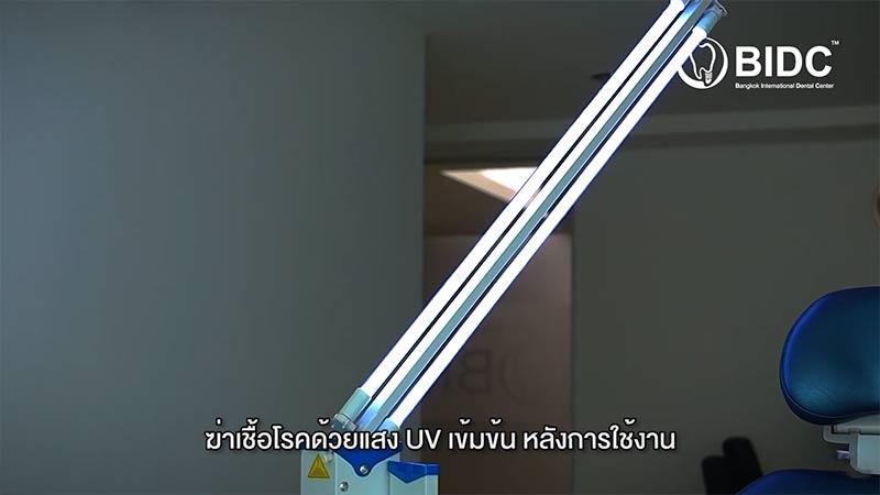 การฆ่าเชื้อด้วยแสง UV